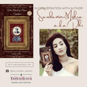 Saudamini Mishra a.k.a Dhi: author interview