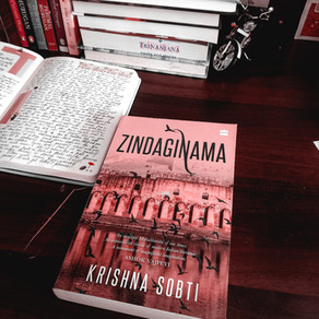 Zindaginama by Krishna Sobti: book review