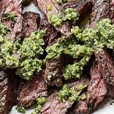 Steak En Salsa Verde