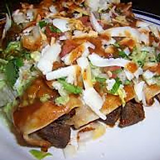 Enchiladas De Carne Asada