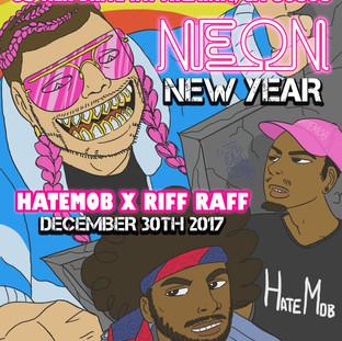 Neon New Year 2018