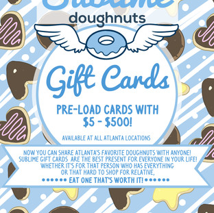 Gift Card Flyer