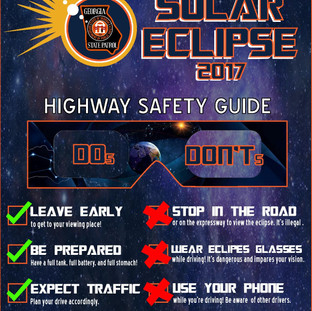 Solar Eclipse - Infographic