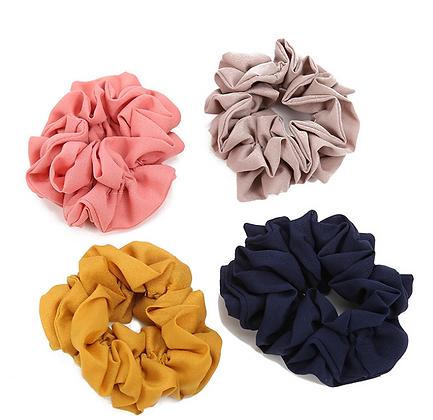 HISUM silk scrunchies