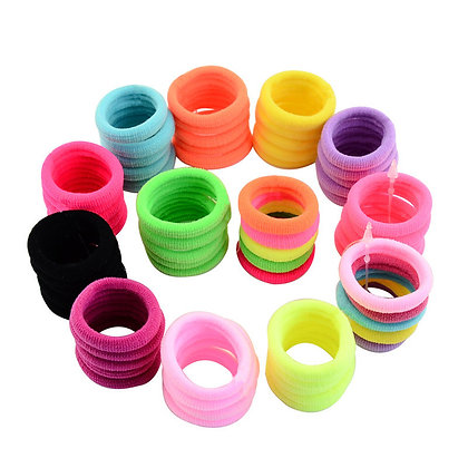 HISUM hair elastics elastic hair bands hair ties