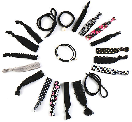 HISUM knot hair ties elastic hair bands