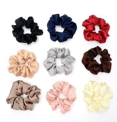 HISUM satin scrunchies
