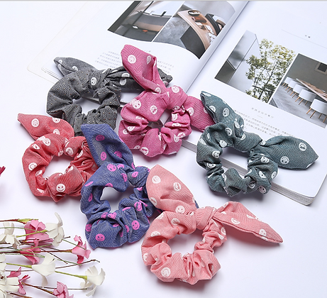 HISUM rabbit ear scrunchies