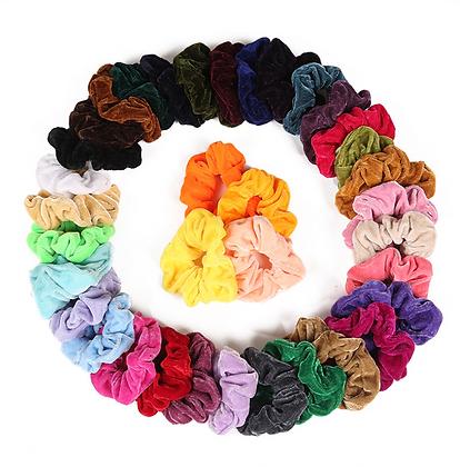 HISUM velvet scrunchies