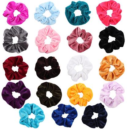 HISUM spring and summer velvet scrunchies
