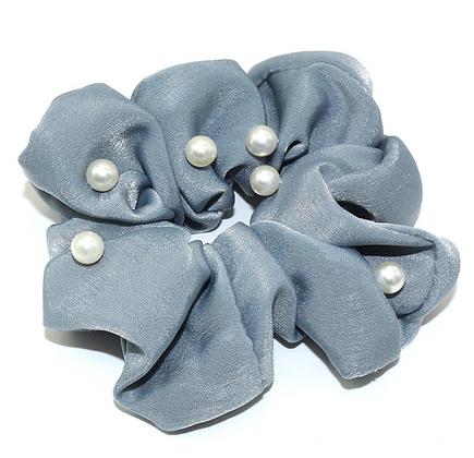 HISUM hair ties scrunchies with pearls