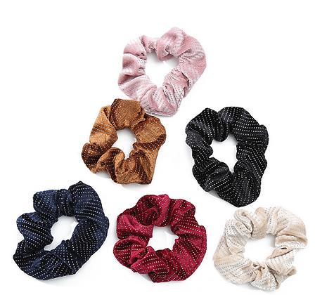HISUM soft scrunchies