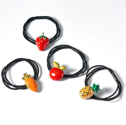 HISUM fruits hair elastics