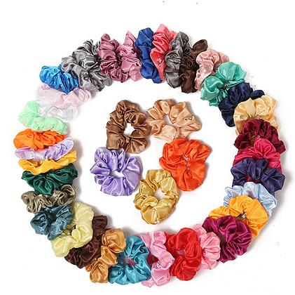 HISUM assorted colors scrunchies