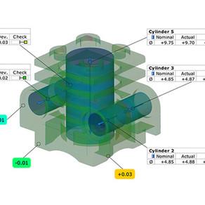 Importação de dados de CT no GOM Inspect