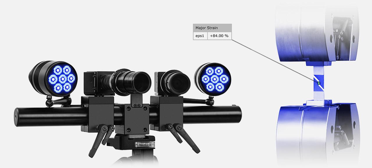 Os dois LEDs montáveis, flexíveis e poderosos garantem uma melhor iluminação de pequenos e médios objetos.