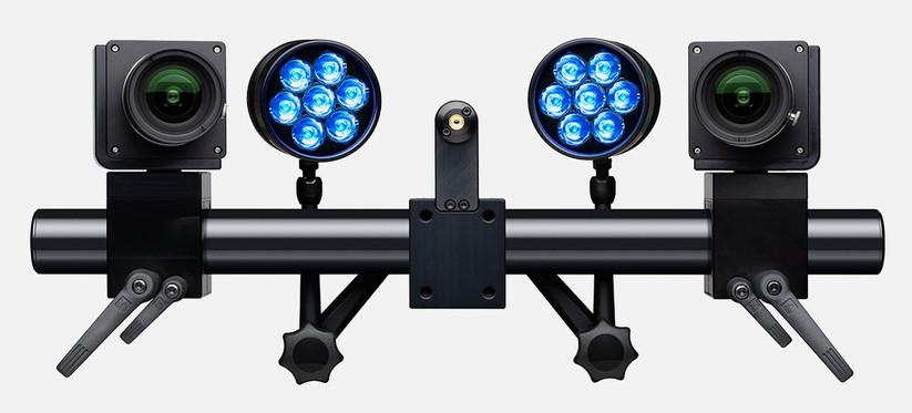 Com três variantes de câmera entre 2,3 e 12 megapixels e frame taxas de 25 a 2.000 fps, o sistema é adequado para diversas aplicações.