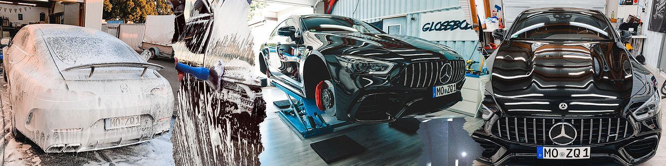 Mercedes AMG Gt63s 4-Türer Fahrzeugflege