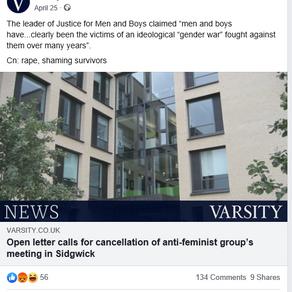 Varsity 'abuse claims'