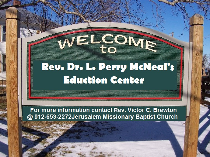 Community Center Sign (small)