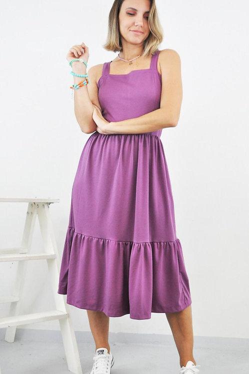 Vestido Geh - Roxo