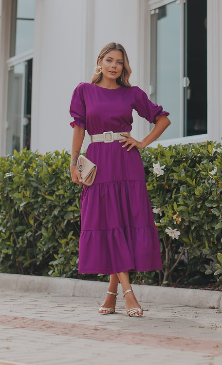 Vestido Thassia Babados