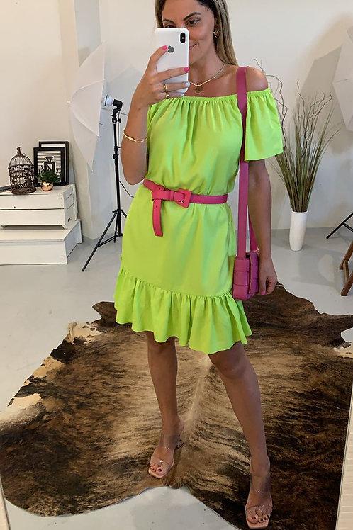 Vestido Ciganinha - Verde