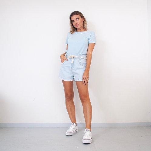 T-Shirt Viscolycra Gola U - Love