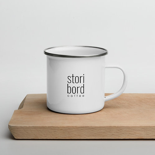 """Create your Stori"" Storibord Coffee Camp Mug"