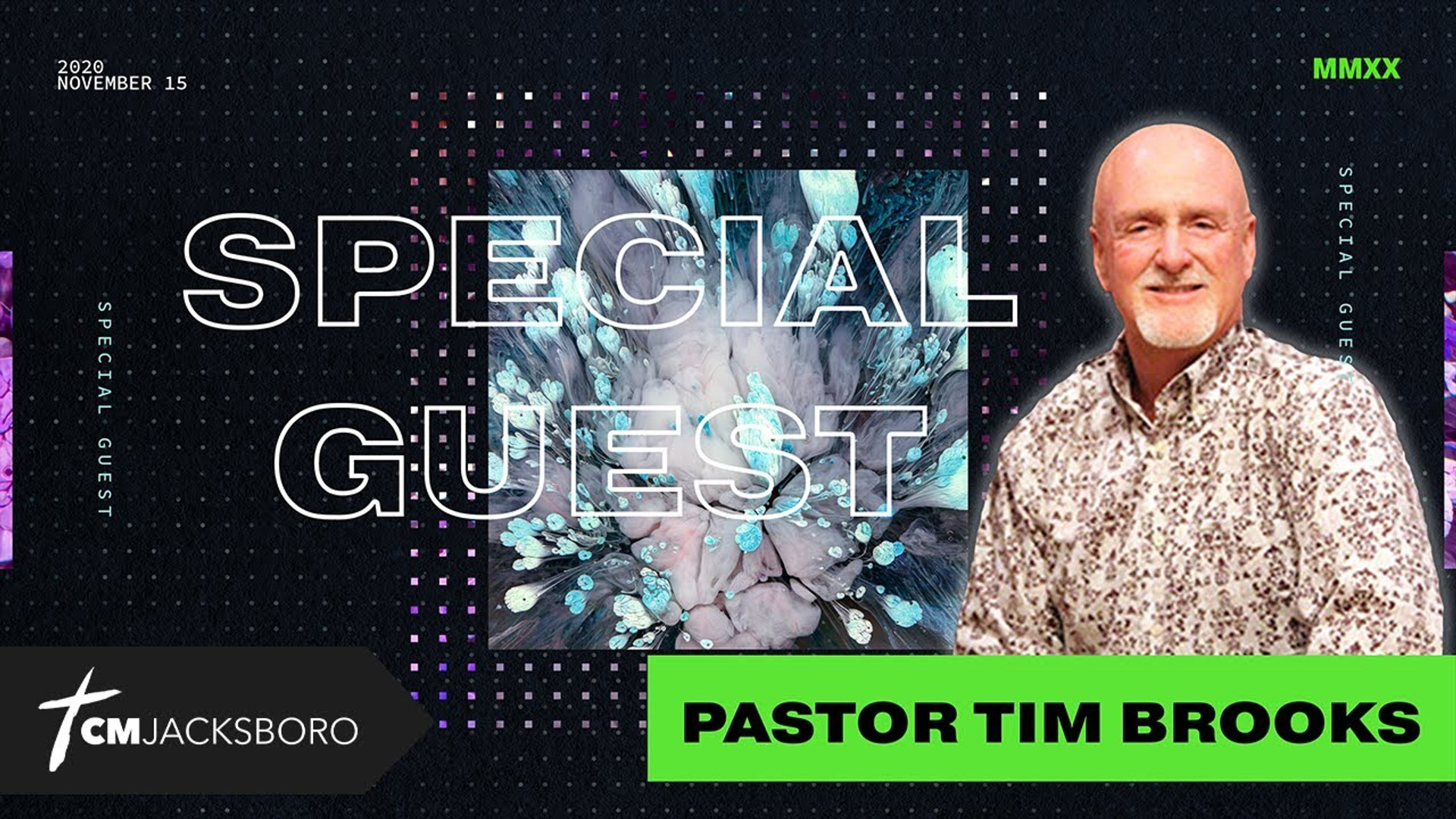 Special Guest: Pastor Tim Brooks