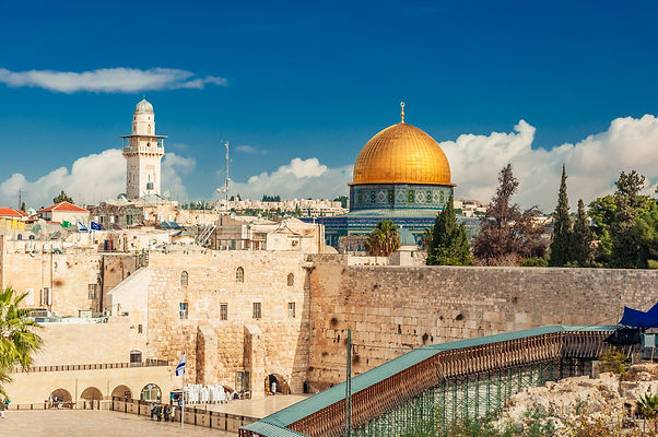 Western Wall and Dome of the Rock in the