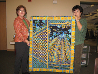 The winner of my church raffle quilt is...