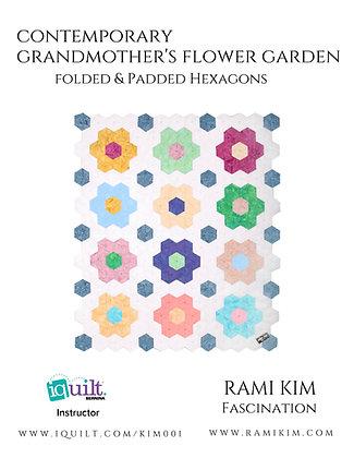"""Contemporary Grandmother's Flower Garden"" Pattern"