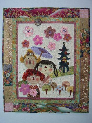 Cherry Blossom Festival Quilt (Pattern)