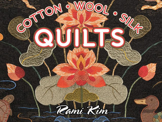 "50% Off Sale: ""Elegant Cotton, Wool, Silk Quilts"""