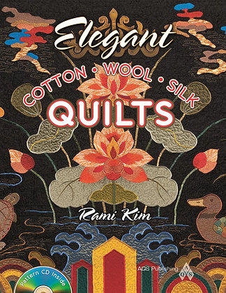 Elegant Cotton, Wool, Silk Quilts (autographed)