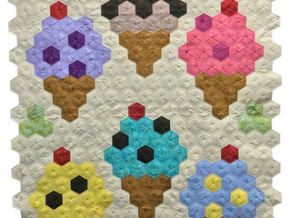 """New Workshops Added: """"Ice Cream Cone Delight"""" & """"Quilt Lace, Floating Flowers&quo"""