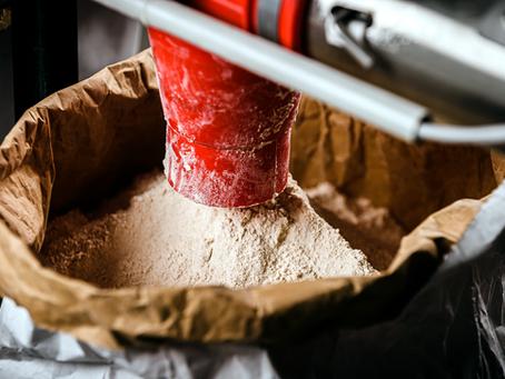 Stockage de la farine  Astréïa, farine de meules