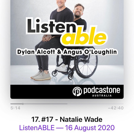 Guest on ListenAble Podcast - Natalie Wade
