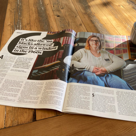 The Advertiser - Natalie Wade is fighting for SA's disability community