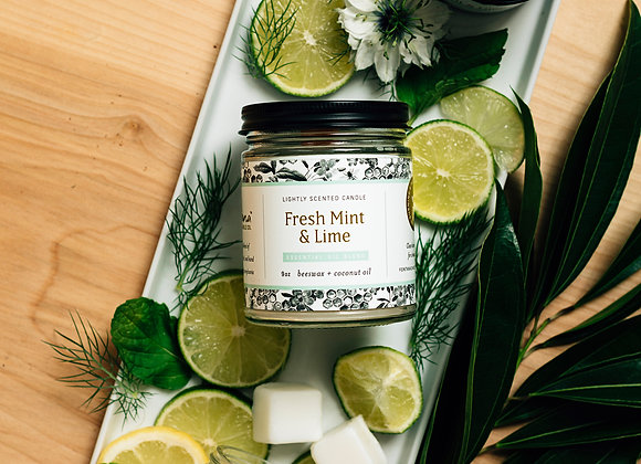 Fresh Mint & Lime