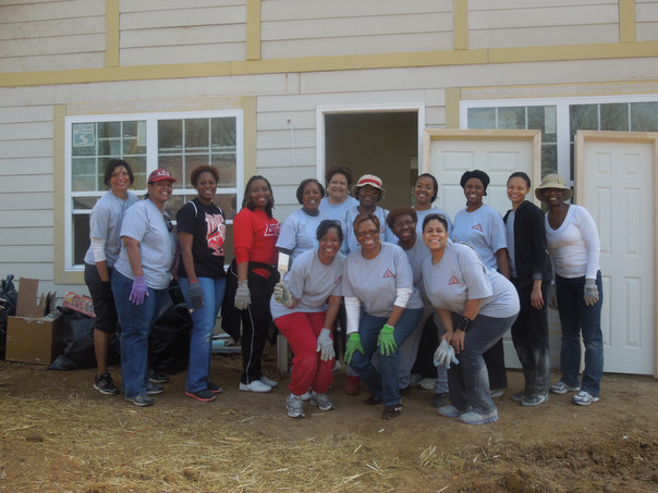 Habitat For Humanity Home Build