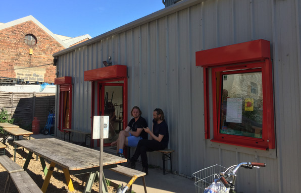 social space that helps attract local residents