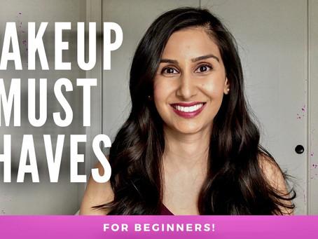Makeup Must Haves for the Regular Girl (Beginner, minimalist, starter kit)