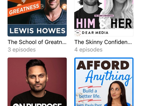My 4 Favourite Podcasts