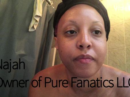 Utilizing Pure Fanatics Charcoal Soap