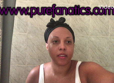 Utilizing Pure Fanatics Body Scrub