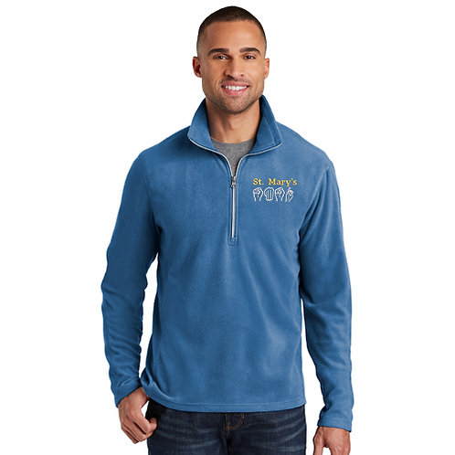 SMSD Fleece 1/4 Zip w/ Embroidered Left Chest-F224/L224