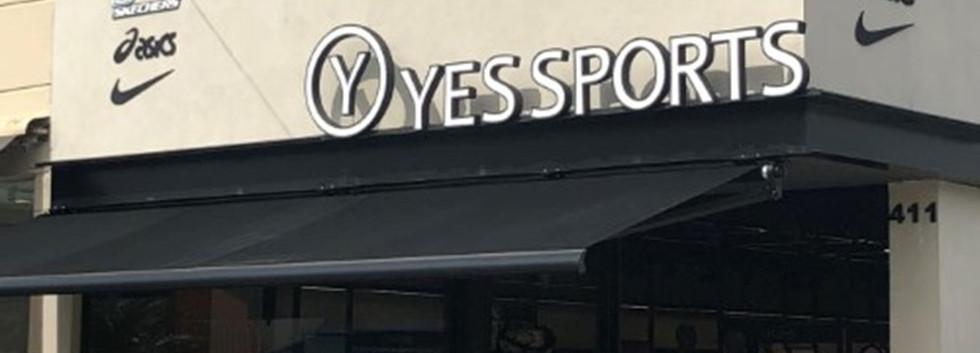 Loja Yes Sports.