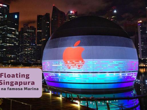 Apple Store Flutuante em Singapura